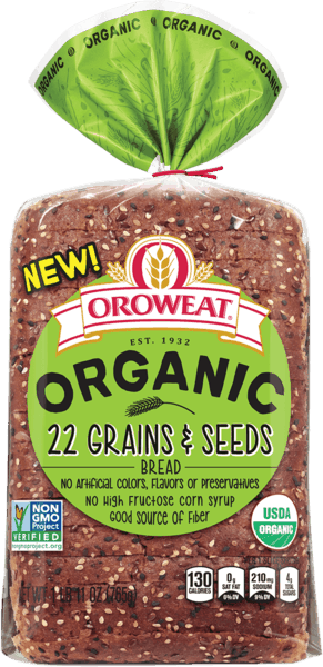 $0.25 for Oroweat® Organic Bread (expiring on Tuesday, 12/31/2019). Offer available at multiple stores.