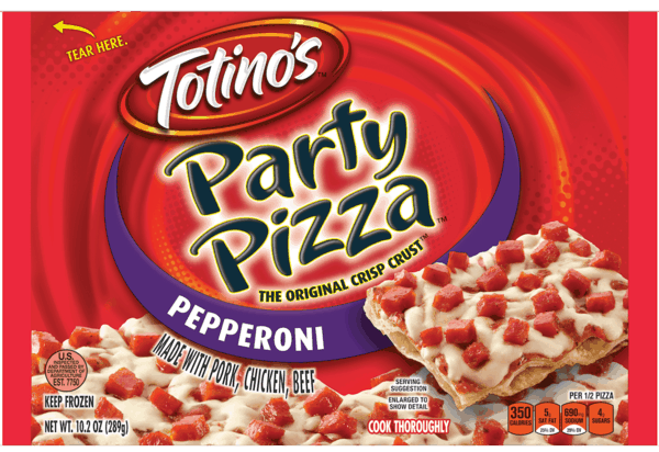 $0.25 for Totino's™ Party Pizza™ (expiring on Wednesday, 05/02/2018). Offer available at WinCo Foods.