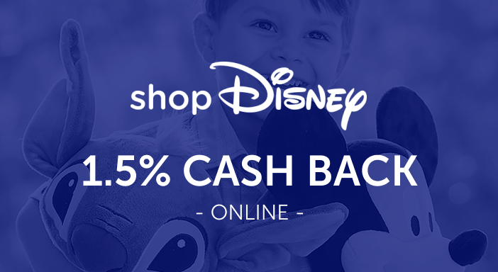 $0.00 for shopDisney (expiring on Monday, 06/30/2025). Offer available at shopDisney.