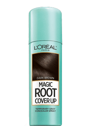 $1.00 for L'Oréal Paris® Magic Root Cover Up Temporary Gray Concealer Spray. Offer available at multiple stores.