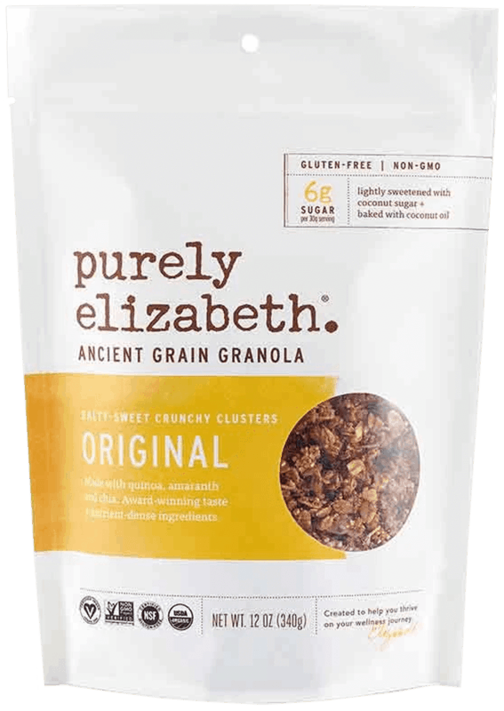 $1.00 for Purely Elizabeth Granola (expiring on Sunday, 08/02/2020). Offer available at Walmart.