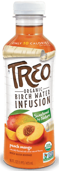 $1.25 for TREO™ Organic Birch Water Infusion (expiring on Sunday, 09/02/2018). Offer available at multiple stores.