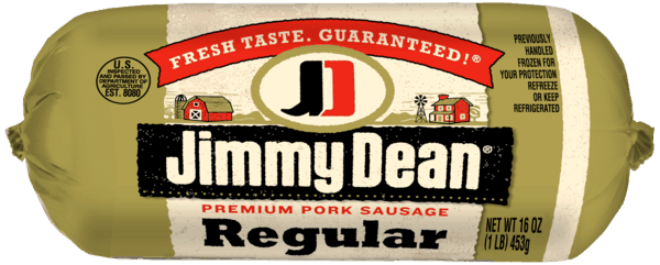 $0.80 for Jimmy Dean® Premium Pork Sausage Roll. Offer available at multiple stores.