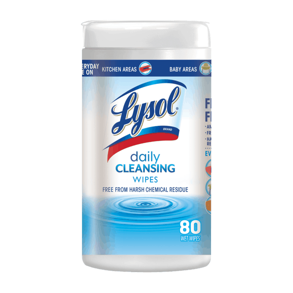 $1.00 for Lysol® Daily Cleanser Wipes (expiring on Wednesday, 08/01/2018). Offer available at Walmart.