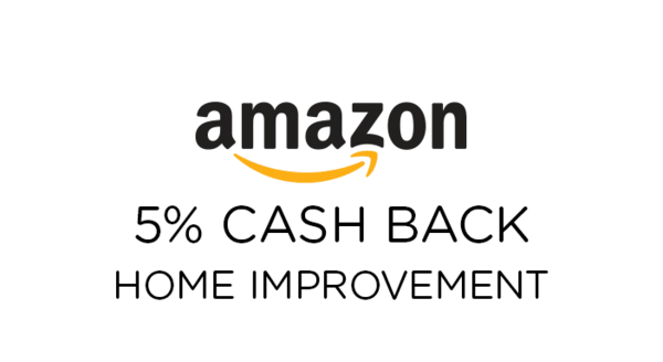 $0.00 for Amazon Home Improvement (expiring on Tuesday, 01/01/2019). Offer available at Amazon.