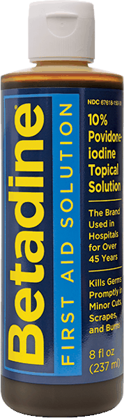$3.00 for Betadine® (10% povidone-iodine) First Aid Solution. Offer available at multiple stores.