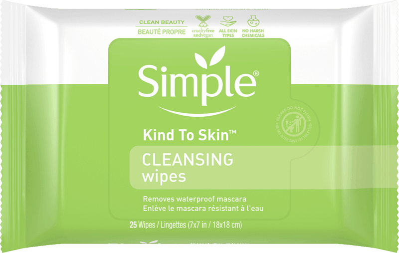 $1.00 for Simple Kind to Skin Wipes. Offer available at multiple stores.