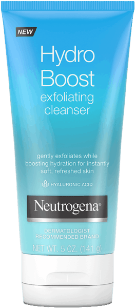 $1.50 for NEUTROGENA® Hydro Boost Exfoliating Cleanser (expiring on Thursday, 04/05/2018). Offer available at multiple stores.