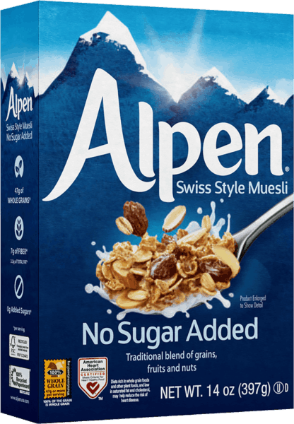 $1.00 for Alpen® Muesli (expiring on Sunday, 06/02/2019). Offer available at multiple stores.