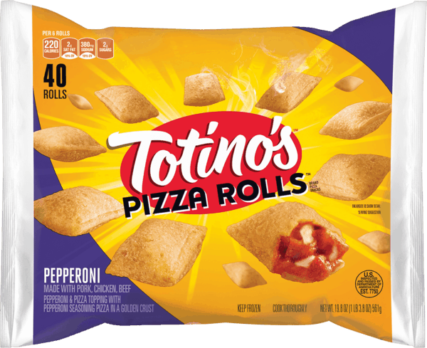 $1.00 for Totino's™ Pizza Rolls™ (expiring on Monday, 07/02/2018). Offer available at Walmart.