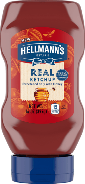 $1.00 for Hellmann's® Real Ketchup (expiring on Monday, 09/24/2018). Offer available at multiple stores.