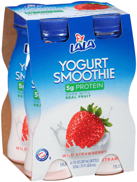 $1.00 for LALA® Yogurt Smoothies (expiring on Friday, 11/02/2018). Offer available at Walmart.