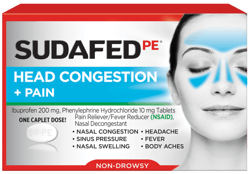 $1.00 for Sudafed® (expiring on Friday, 12/13/2019). Offer available at Walmart.