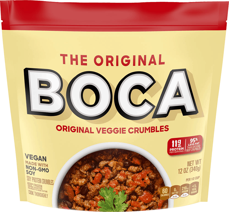 $1.00 for BOCA Veggie Crumbles (expiring on Sunday, 08/02/2020). Offer available at Sprouts Farmers Market.