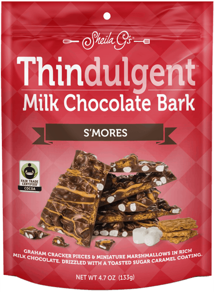 $0.75 for Thindulgent™ Milk Chocolate Bark S'mores (expiring on Tuesday, 10/02/2018). Offer available at multiple stores.
