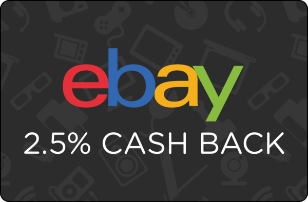 $0.00 for Ebay (expiring on Monday, 10/08/2018). Offer available at eBay.