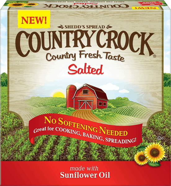 $0.50 for Country Crock® Buttery Sticks (expiring on Sunday, 12/31/2017). Offer available at multiple stores.
