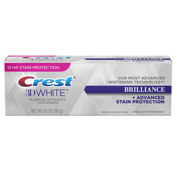 $2.00 for Crest® 3D White™ Brilliance Toothpaste. Offer available at Walmart.