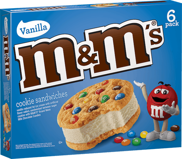$1.00 for M&M'S® Ice Cream (expiring on Monday, 06/11/2018). Offer available at multiple stores.