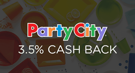 $0.00 for Party City (expiring on Friday, 10/31/2025). Offer available at Party City.