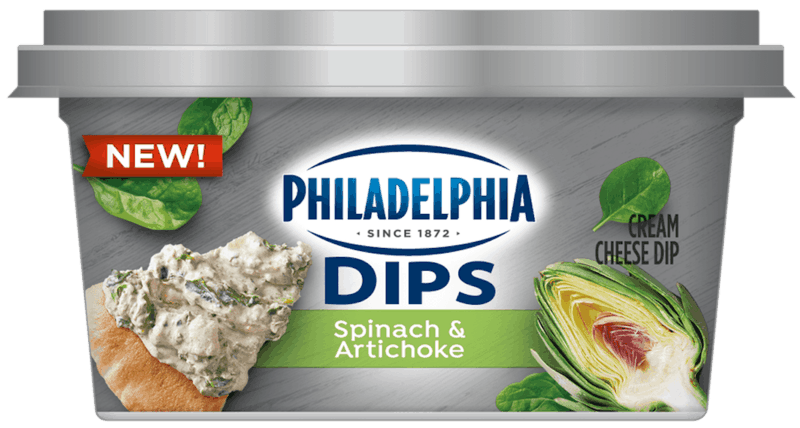 $1.00 for PHILADELPHIA Dips (expiring on Tuesday, 06/02/2020). Offer available at multiple stores.