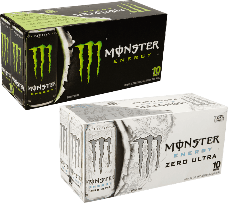 $3.00 for Monster Energy Drink. Offer available at Walmart, Walmart Grocery.
