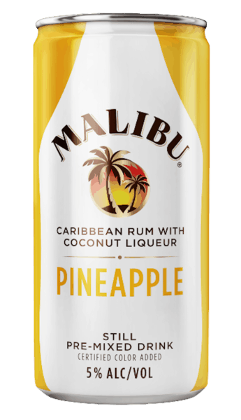 $0.25 for MALIBU® Can (expiring on Monday, 09/03/2018). Offer available at multiple stores.