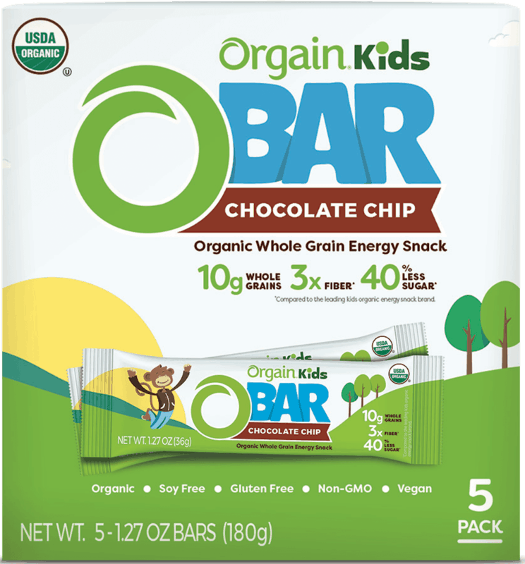 $1.00 for Orgain Kids Bar (expiring on Wednesday, 04/01/2020). Offer available at Walmart.