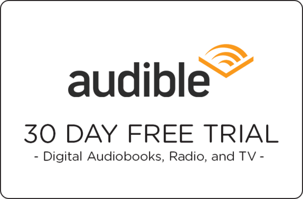 $0.00 for Audible - Free Trial (expiring on Friday, 05/31/2019). Offer available at Amazon.