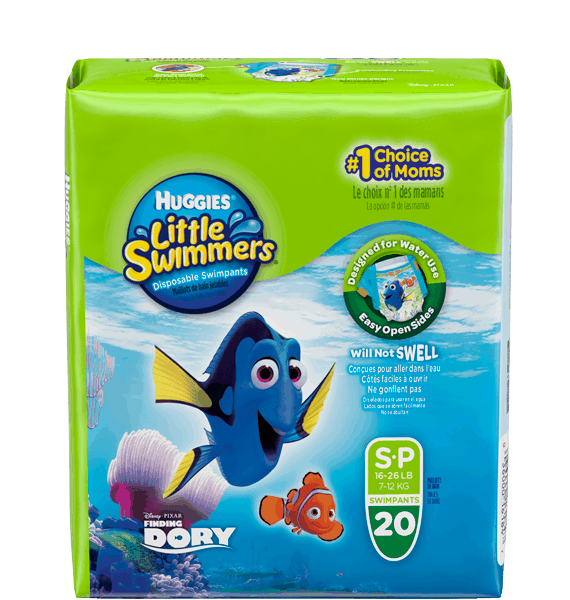 $2.50 for HUGGIES® Little Swimmers® (expiring on Tuesday, 05/30/2017). Offer available at Walmart.