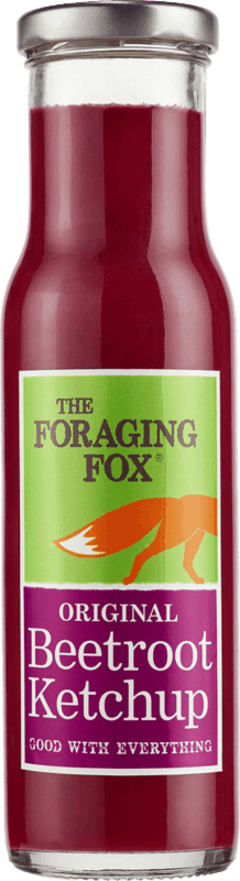 $2.00 for The Foraging Fox® Beetroot Ketchup (expiring on Monday, 06/01/2020). Offer available at Walmart, Walmart Grocery.