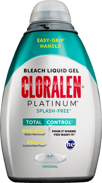 $1.00 for CLORALEN® Platinum® SPLASH-FREE® Bleach Liquid Gel (expiring on Sunday, 12/02/2018). Offer available at Target, Walmart.