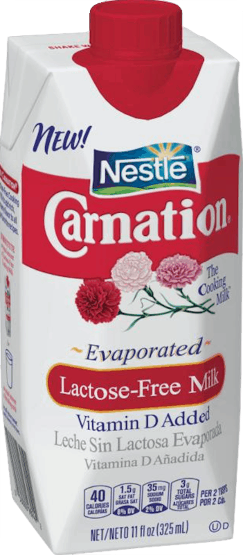 $1.00 for Nestlé® Carnation® Lactose-Free Evaporated Milk (expiring on Wednesday, 10/02/2019). Offer available at Walmart.