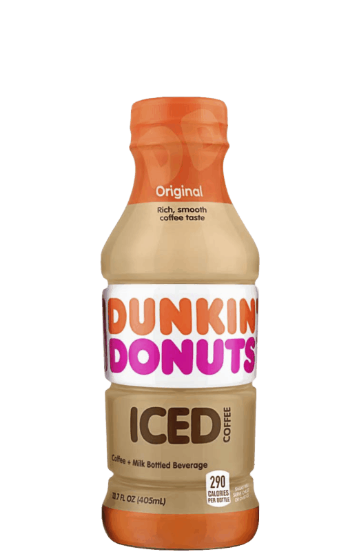 $1.00 for Dunkin' Donuts® Iced Coffee. Offer available at Walmart.