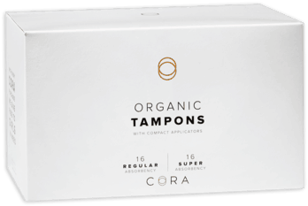 $1.00 for Cora® Premium Organic Cotton Tampons (expiring on Sunday, 06/02/2019). Offer available at Target.