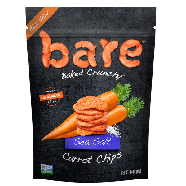 $1.00 for bare® Veggie Chips (expiring on Saturday, 05/18/2019). Offer available at Target.