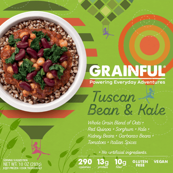 $0.50 for Grainful® Frozen Entrées (expiring on Friday, 08/31/2018). Offer available at Giant Eagle, ShopRite.