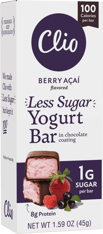 $0.50 for Clio Less Sugar Yogurt Bars (expiring on Friday, 09/24/2021). Offer available at Whole Foods Market.
