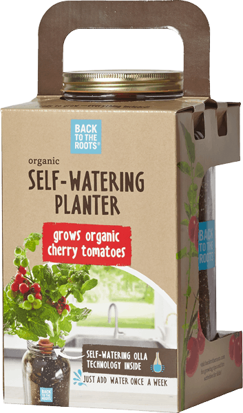 $3.00 for Back to the Roots® Organic Self-Watering Tomato Planter (expiring on Thursday, 03/09/2017). Offer available at Wegmans, Whole Foods Market®, Home Depot, Petco, Natural Grocers.