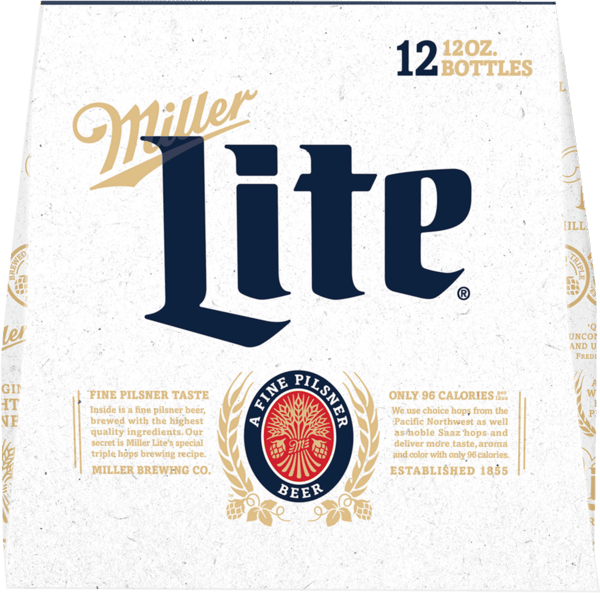 $1.40 for Miller Lite®. Offer available at multiple stores.