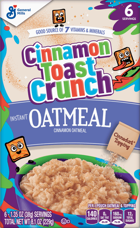 $1.25 for General Mills Instant Oatmeal (expiring on Monday, 08/30/2021). Offer available at Walmart, Walmart Pickup & Delivery.