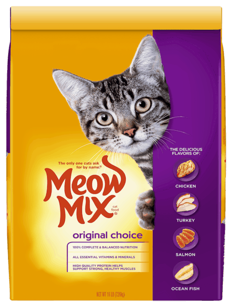 $1.00 for Meow Mix® Dry Cat Food (expiring on Tuesday, 03/05/2019). Offer available at Food Lion.