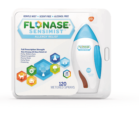 picture regarding Flonase Coupons Printable called $6.00 for FLONASE SENSIMIST Allergy Aid. Offer you accessible