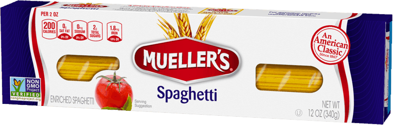 $0.75 for Mueller's Pasta. Offer available at multiple stores.