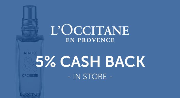 $0.00 for L'Occitane En Provence (expiring on Wednesday, 03/31/2021). Offer available at L'Occitane.