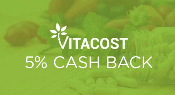 $0.00 for Vitacost (expiring on Friday, 05/03/2019). Offer available at Vitacost.