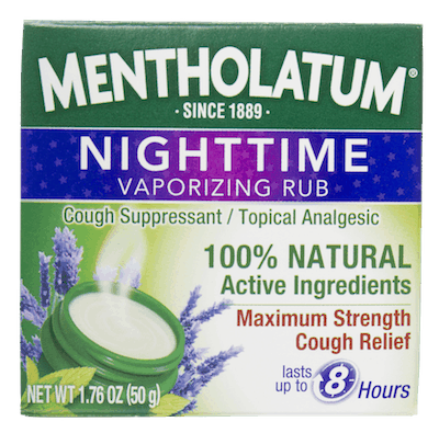 $1.50 for Mentholatum® Nighttime Vaporizing Rub (expiring on Monday, 07/02/2018). Offer available at Rite Aid, Dollar General.