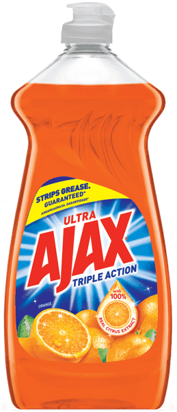 $0.50 for Ajax® Ultra Liquid Dish Soap. Offer available at Walmart.