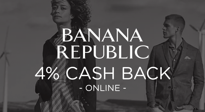 $0.00 for Banana Republic (expiring on Tuesday, 08/20/2019). Offer available at Banana Republic.