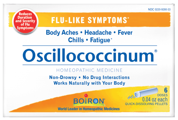 $1.00 for Boiron® Oscillococcinum® (expiring on Wednesday, 08/01/2018). Offer available at multiple stores.